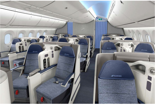 Air Europa Reveals New 787 Business Class One Mile At A Time