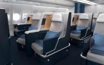 Air France A330 Business Class 3