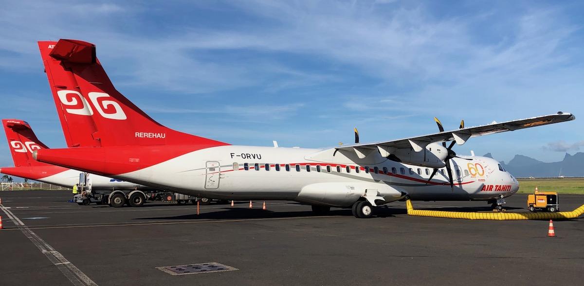 Review: Air Tahiti ATR 72 Economy Papeete To Bora Bora