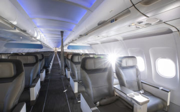 Alaska Airlines New Cabin 9