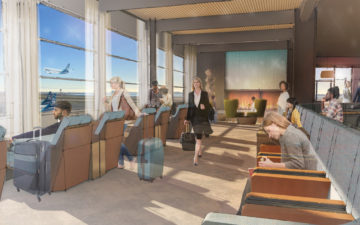 Alaska Lounge At T2 Rendering