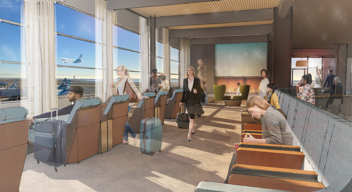 Alaska Lounge Sfo Opening In 2020 One Mile At A Time