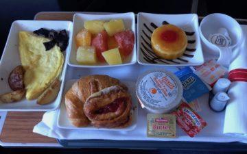 American Airlines Kosher Breakfast – 5