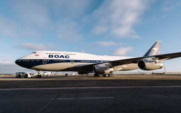 British Airways – Boac 747