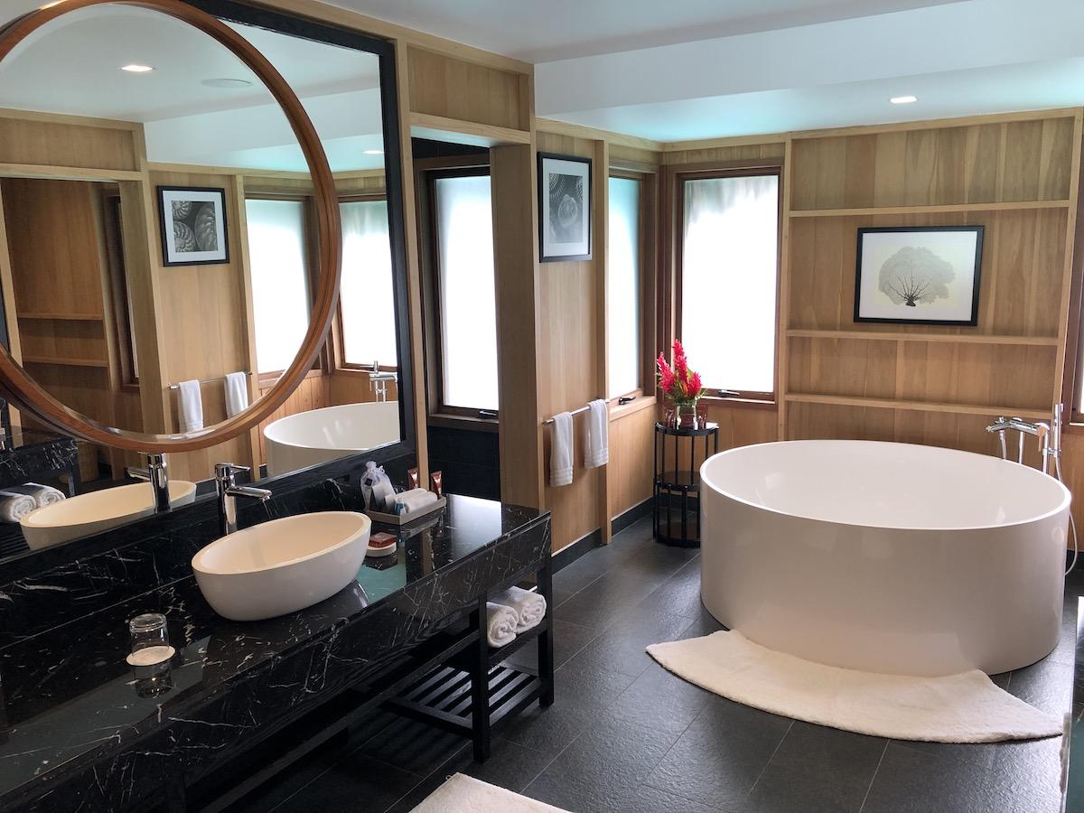 Review Conrad Bora Bora Overwater Villa One Mile At A Time