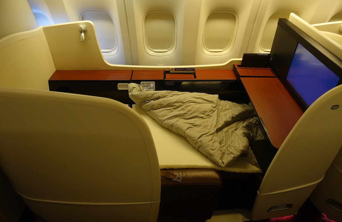 Japan Airlines First Class 54