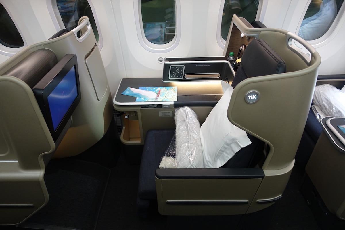 Review: Qantas Business Class 787 San Francisco To Melbourne