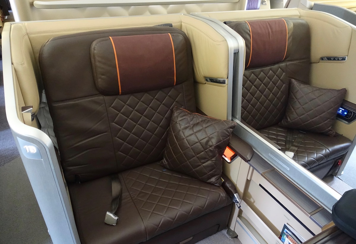 Singapore Airlines First Class 777 2