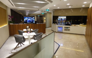Singapore Airlines First Class Lounge Melbourne – 3