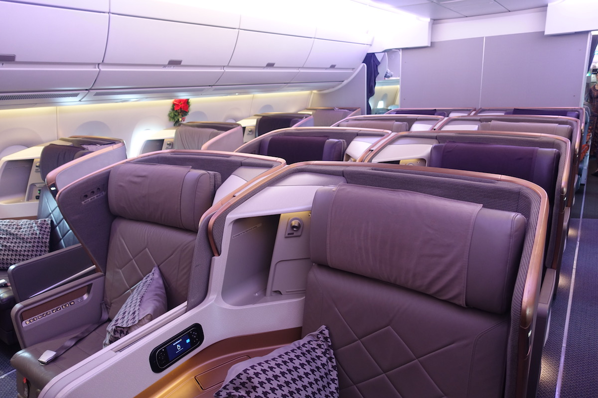 Review: Singapore Airlines Business Class A350 Singapore To Kuala ...