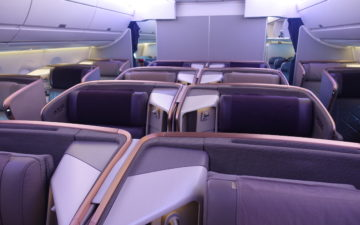 Singapore Business Class A350 – 21