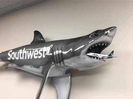 """Southwest's Hawaii """"Sharks"""" - Healthy Competition Or Bad Sportsmanship?"""