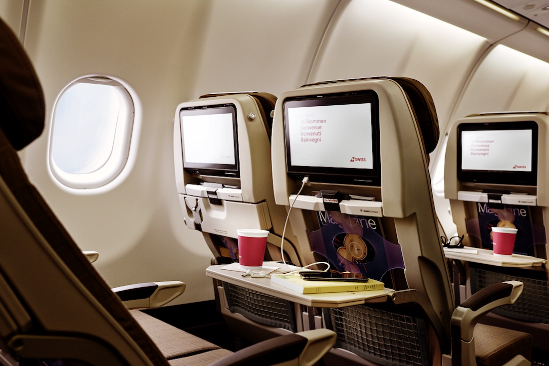 Swiss A340 Cabin Refresh Project Complete   One Mile at a Time