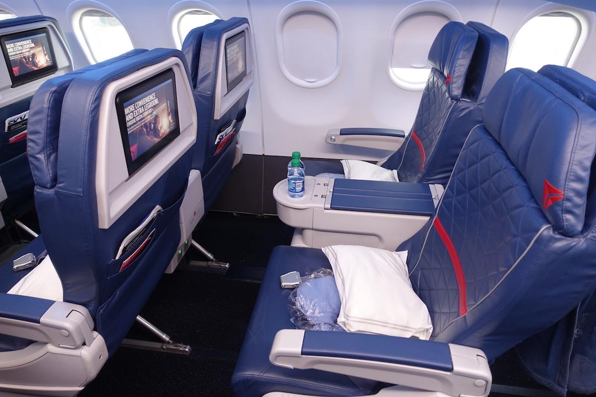 Delta A320 First Class