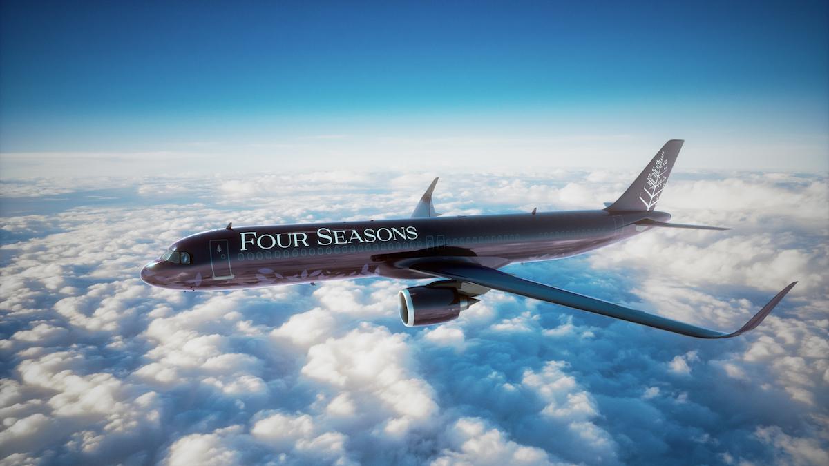 Four Seasons Private Jet 8