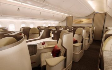 Hainan Airlines Dreamliners Business Class