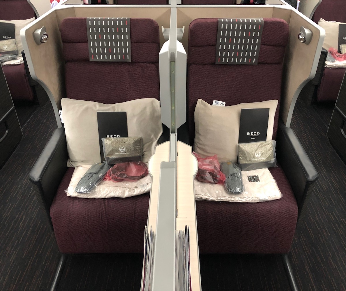 Japan Airlines Business Class 787 9