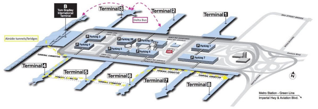 Los Angeles International Airport Terminals