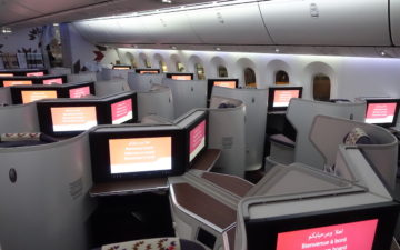 Royal Air Maroc New Business Class – 2