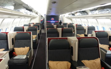 Turkish Airlines A330 300 Business Class – 1