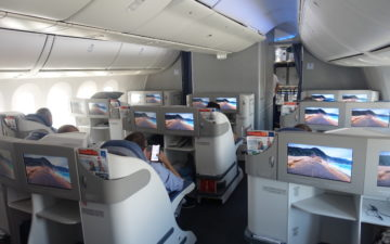 Air Europa Business Class 787 – 9