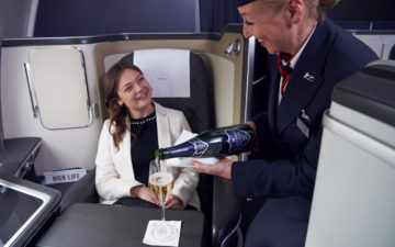 British Airways Sparkling Wine 2