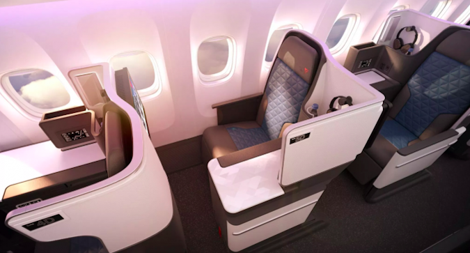 Delta's First 767-400 With New Business Class Seats | One Mile at a Time