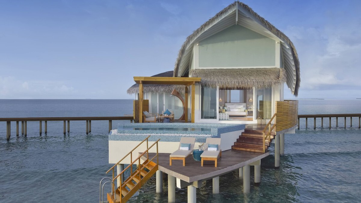 New JW Marriott Maldives: Book Overwater Villa With Points