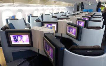 Klm Business Class 787 – 1