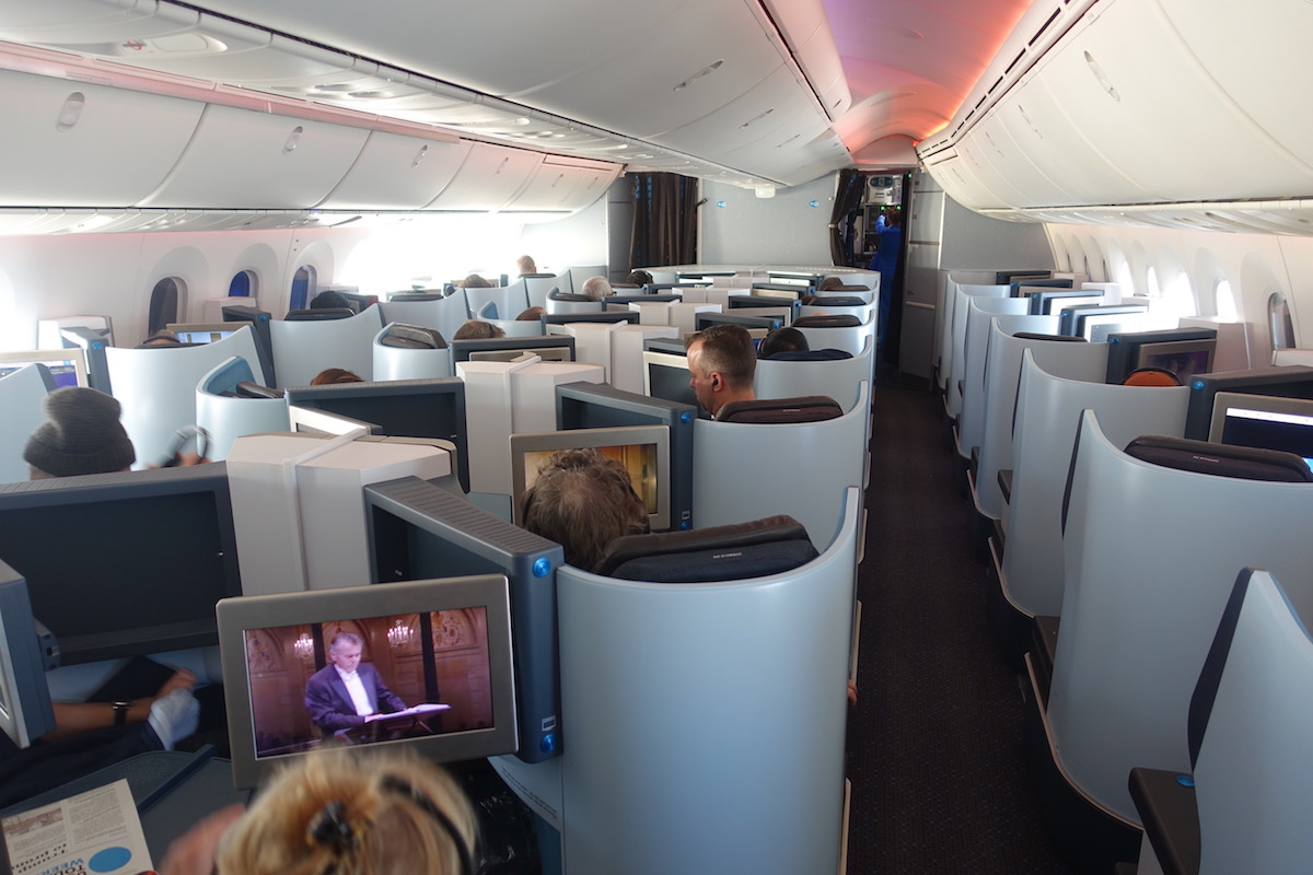 Review Of KLM's 787-9 Business Class 24