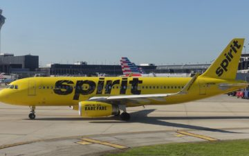 Spirit Airlines Is Introducing Inflight Wifi One Mile At A Time