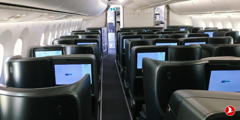 Pictures: Turkish Airlines' New 787 Business Class
