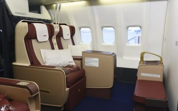 Yakutia Airlines Business Class