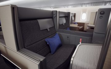 Ana New 777 Business Room