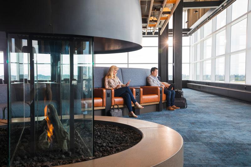 Alaska Airlines Lounge Seattle 4