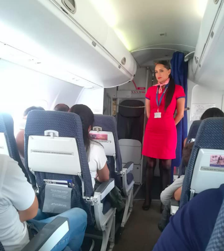 Flight Attendant From Crash Returns To Skies | One Mile at a