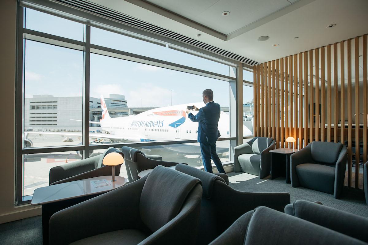 British Airways' Beautiful New San Francisco Lounge