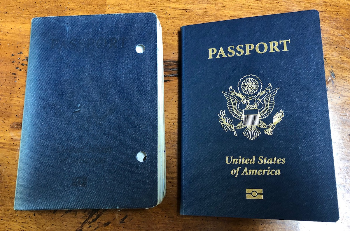 Odd Feelings About My New Passport…
