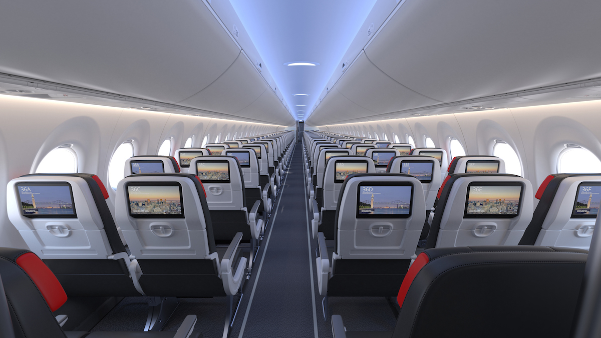 Air Canada A220 Details: Cabins, Routes, And More | One Mile ...