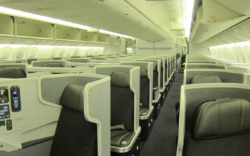 American 777 Business Class