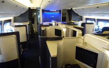 British Airways 777 First Class – 2