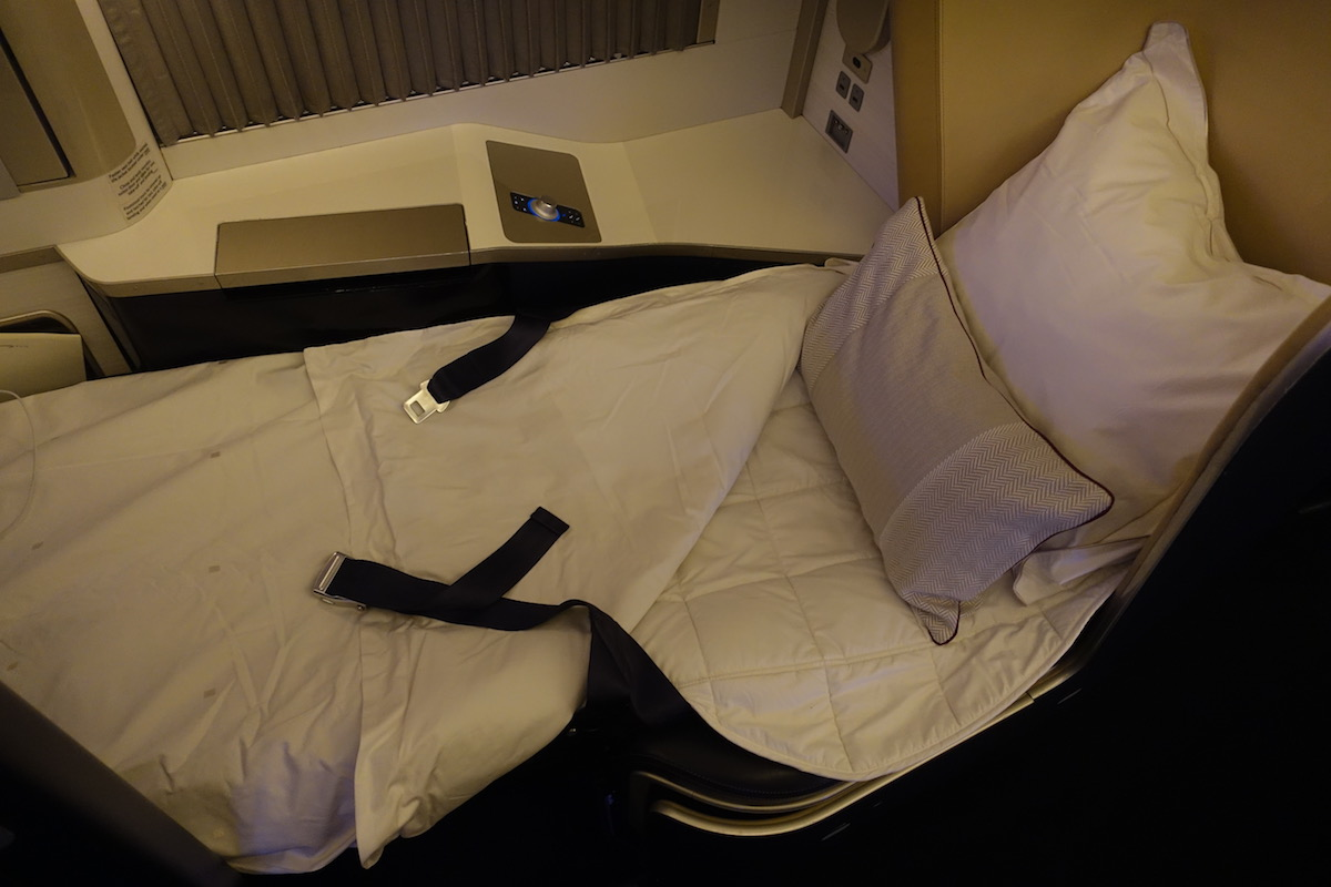 Review: British Airways 777 First Class | One Mile at a TimeBritish Airways First Class 777 Bed