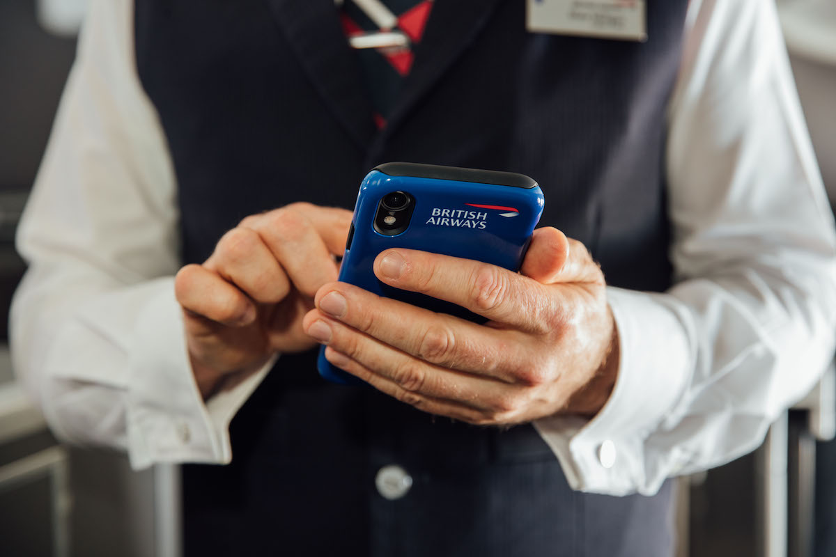 British Airways Cabin Crew Are All Getting iPhones