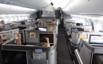 Eva Air 787 Business Class – 34