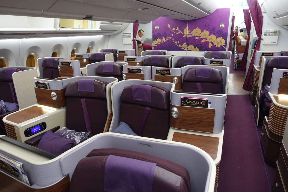 Thai Airways A350 Business Class 4