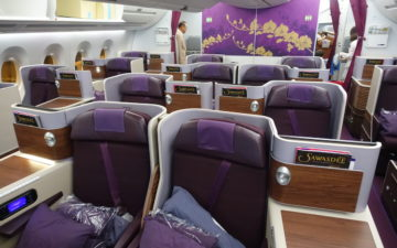 Thai Airways A350 Business Class – 5
