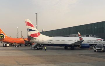 British Airways Comair Business Class – 41
