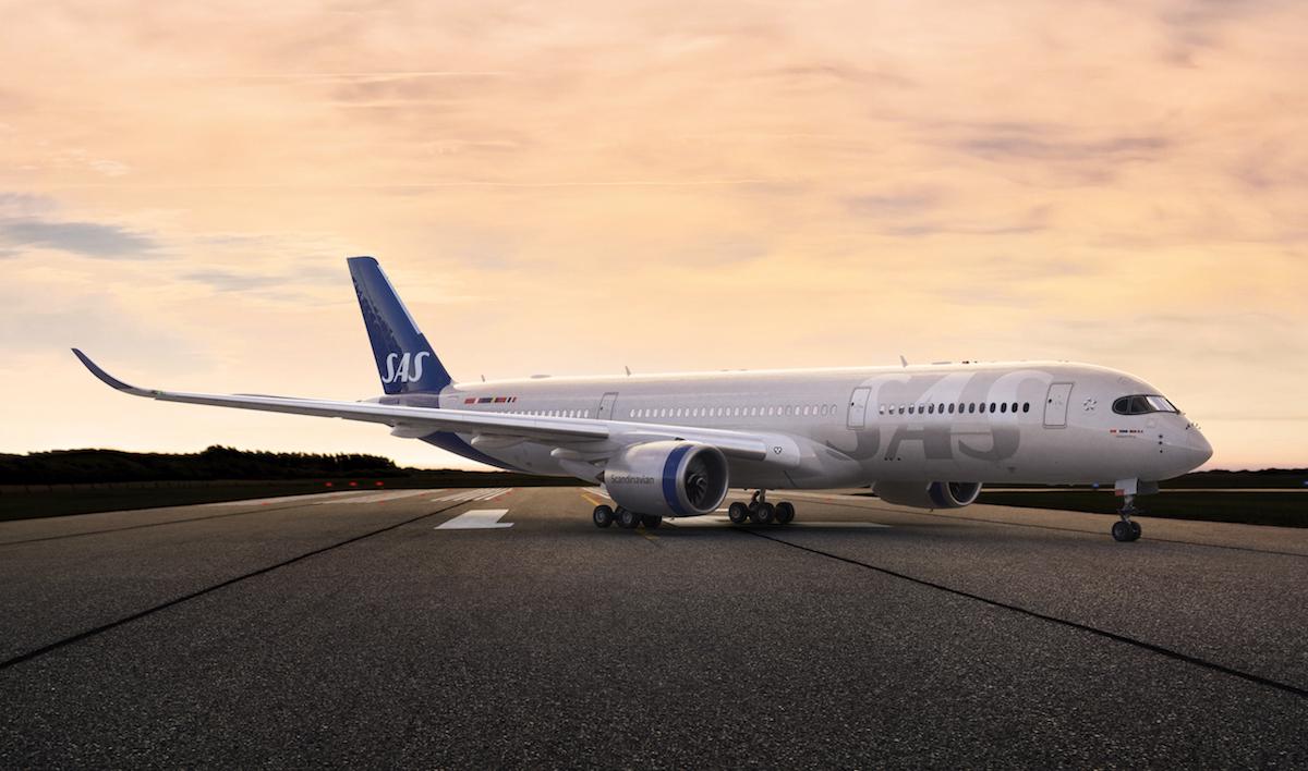 SAS Unveils Stunning New Livery