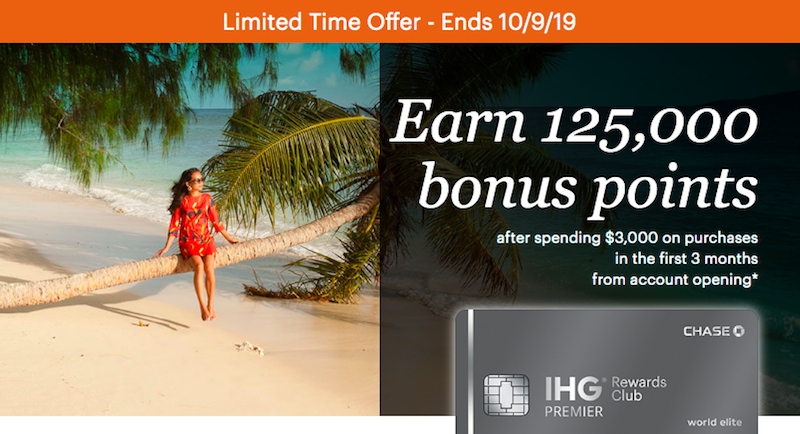 Last Chance: Incredible IHG Card 125K Bonus