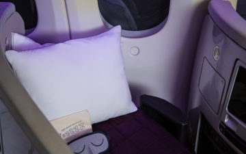 Air New Zealand Pillow